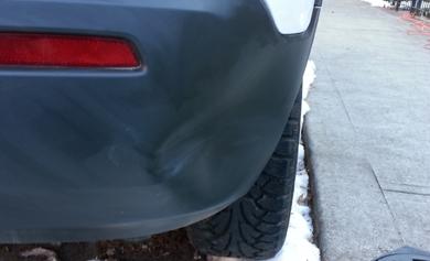 Bumper Dent Repair